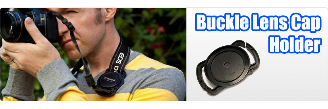 Buckle Lens Cap Holder