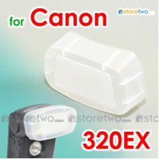 JJC Canon Speedlite 320EX Flash Bounce Diffuser Soft Cap Box Dome