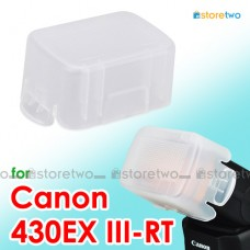 JJC Canon Speedlite 430EX III-RT Flash Bounce Diffuser Soft Cap Box