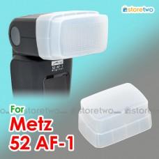 JJC Metz 52 AF-1 44 AF-1 Flash Bounce Diffuser Cap Dome Semi-transparent