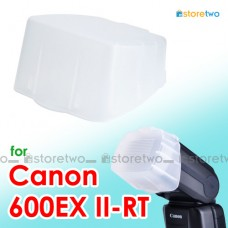 JJC Canon Speedlite 600EX II-RT Flash Bounce Diffuser Soft Cap Box