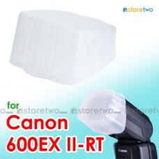JJC Canon Speedlite 600EX II-RT Flash Bounce Diffuser Soft Cap Box