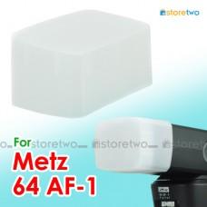 JJC Metz 64 AF-1 Flash Bounce Diffuser Cap Dome Semi-transparent