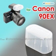 JJC Canon Speedlite 90EX Flash Bounce Diffuser Soft Cap Box Dome EOS M