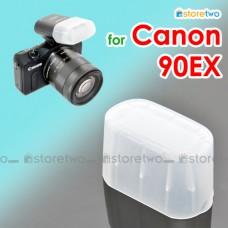 JJC Canon Speedlite 90EX Flash Bounce Diffuser Soft Cap Box Dome EOS M