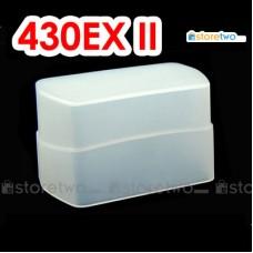 JJC Canon Speedlite 430EX II Flash Bounce Diffuser Soft Cap Box Dome