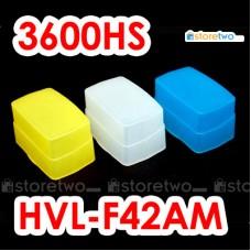 Blue Yellow White JJC Sony HVL-F42AM KM 3600HS Flash Bounce Diffuser