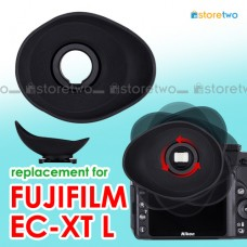 JJC FUJIFILM X-T2 X-T1 Ergonomic Oval Eyecup Soft Silicon Shield Light