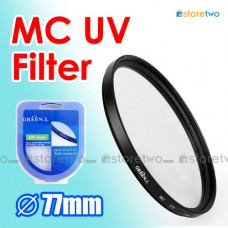 77mm MC UV Multi Coated Ultraviolet Filter Ultraviolet Protector MCUV