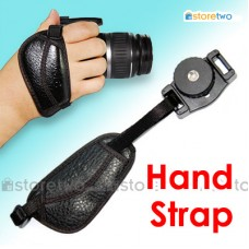 Camera Hand Strap Grip Ergonomic with Tripod Mount for DSLR