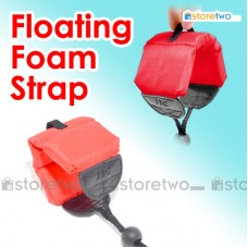 Red Floating Foam Wrist Arm Strap for Waterproof DC Camera Afloat