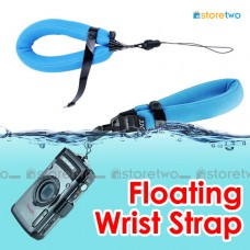 Blue Adjustable Floating Wrist Arm Strap for Waterproof DC Camera