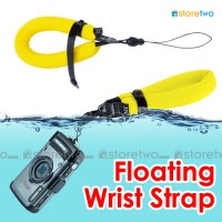 Yellow Adjustable Floating Wrist Arm Strap for Waterproof DC Camera