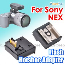 JJC Sony NEX Flash Hotshoe Adapter Smart Accessory Terminal SAT Light
