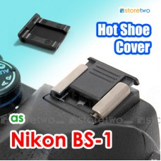 BS-1 - JJC Nikon Hot Shoe Cover Protection Cap for Olympus FUJIFILM