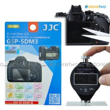 JJC Canon EOS 5D III 5DS R 9H Hard Tempered Glass LCD Screen Protector