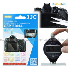 JJC Canon EOS 5D IV III 5DS R 9H Tempered Glass LCD Screen Protector