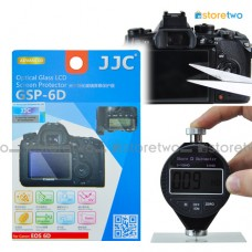 JJC Canon EOS 6D 9H Hard Tempered Glass LCD Screen Protector Guard