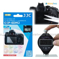 JJC Canon EOS 6D II 9H Hard Tempered Glass LCD Screen Protector Guard