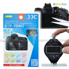 JJC Canon EOS 7D II 9H Hard Tempered Glass LCD Screen Protector Guard