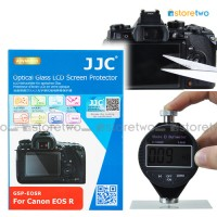 JJC Canon EOS R 9H Hard Tempered Glass Thin LCD Screen Protector Guard