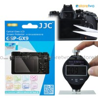 "JJC Panasonic GX9 GX7 9H Tempered Glass 0.01"" LCD Screen Protector"