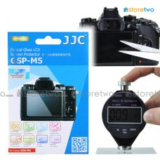 JJC Canon EOS M5 9H Hard Tempered Glass LCD Screen Protector Guard