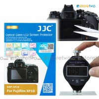 JJC FUJIFILM XF10 9H SRI Tempered Glass LCD Screen Protector Guard