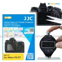 JJC Nikon Z7 Z6 9H Hard Tempered Glass LCD Screen Protector Guard Thin