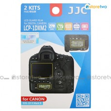 JJC Canon EOS 1D X II Top Back Large Samll LCD Screen Protector Guard