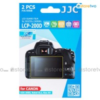 JJC Canon EOS Rebel SL2 200D Kiss X9 LCD Screen Protector Guard Film