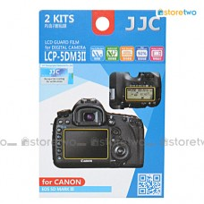 JJC Canon EOS 5D IV III 5DS R Top Back LCD Screen Protector Guard Film