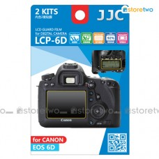 JJC Canon EOS 6D Top & Back LCD Screen Protector Guard Adhesive Film