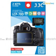 JJC Canon EOS 80D 70D Top & Back LCD Screen Protector Guard Adhesive