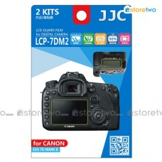 JJC Canon EOS 7D II Top Back LCD Screen Protector Guard Adhesive Film