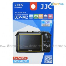 JJC Canon EOS M2 M LCD Screen Protector Guard Scratch Resistance Film
