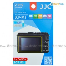 JJC Canon EOS M10 M3 LCD Screen Protector Guard Scratch Resistance PET
