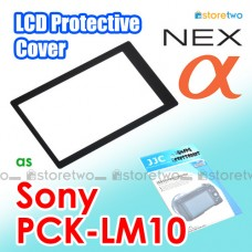 PCK-LM10 - JJC Sony LCD Screen Cover Protector Sheet Alpha NEX NEX-F3