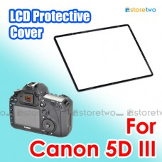 JJC Canon LCD Screen Cover Protector Sheet for 5D Mark III