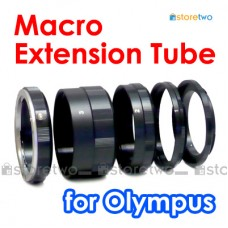 Macro Close Up Extension Tube Ring 5-Piece Olympus 4/3 E-620 E-620 E-3