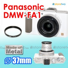 DMW-FA1 - Kiwifotos Panasonic Lumix LX7 37mm Metal Filter Adapter Kit