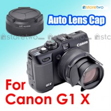 JJC Canon G1 X Self-Retaining Auto Open Close Sync Lens Cap