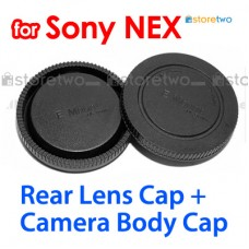 ALC-B1EM ALC-R1EM - JJC Sony NEX Camera Body + Rear Lens Cap Cover Set