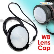 58mm White Balance Lens Cap Filter Mount