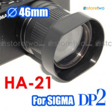 HA-21 - SIGMA DP2s DP2 Lens Hood Detachable Adapter 46mm Filter Mount