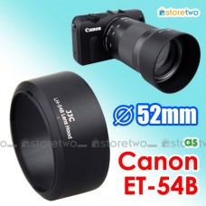 ET-54B - JJC Canon Lens Hood for EF-M 55-200mm f/4.5-6.3 IS STM EOS M
