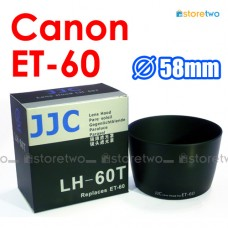 ET-60 - JJC Canon Lens Hood Shade for EF-S 55-250mm IS II 75-300mm USM