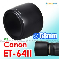 ET-64II - JJC Canon Lens Hood Shade for EF 75-300mm f/4.0-5.6 IS USM