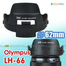 LH-66 JJC Olympus Lens Hood MZD ED 12-40mm PRO Filter Access Window