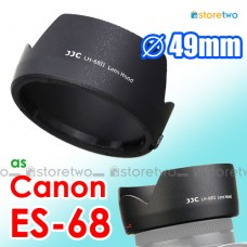 ES-68 - JJC Canon Tulip Lens Hood Shade for EF 50mm f/1.8 STM